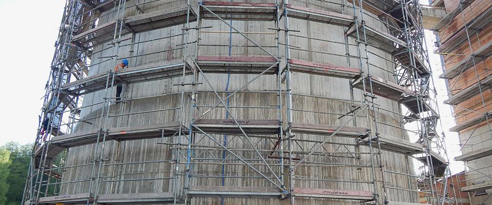 Naprawa iochrona konstrukcji betonowych ipodbijanie fundamentów