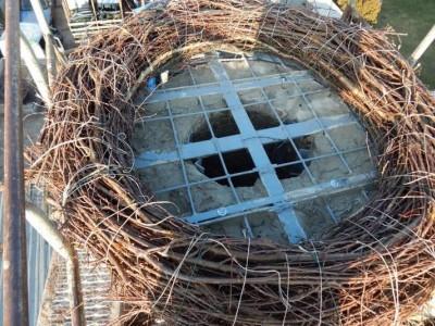 ogrodzenie zrobione kratą 2